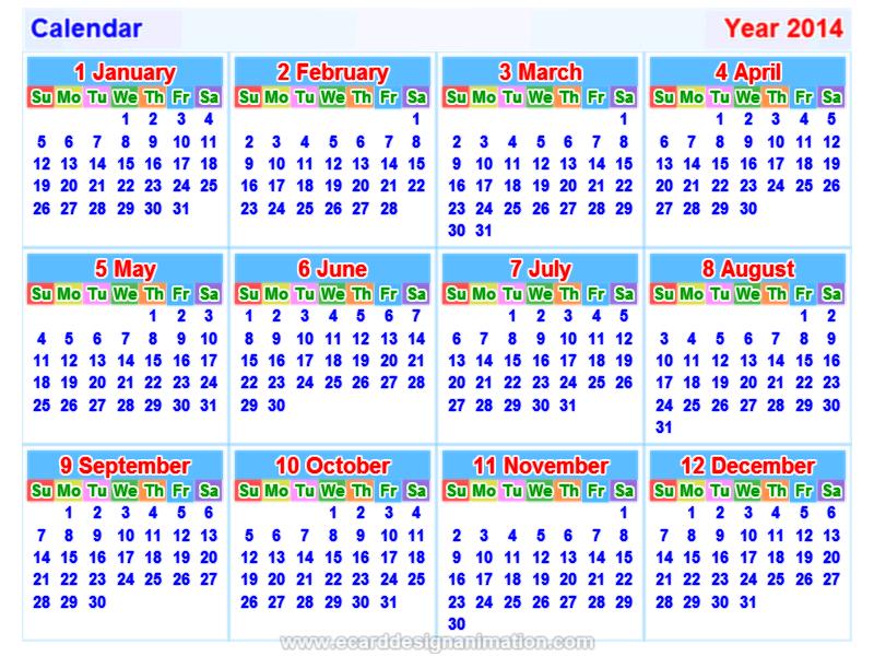 Printable December Month Calendar 2014/page/2 | New Calendar Template ...