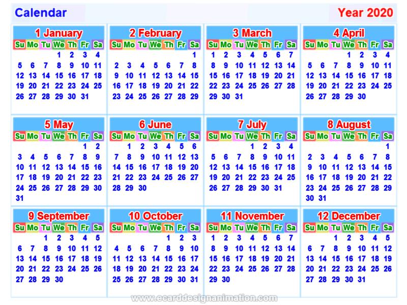 Thai Calendar 2020 Calendar2020