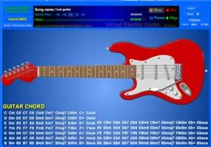 virtual electric guitar online test guitar. Black Bedroom Furniture Sets. Home Design Ideas