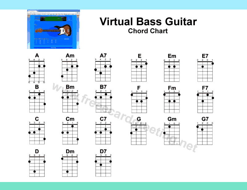 Bass guitar fingering - Printable bass chord fingerings?   TalkBass