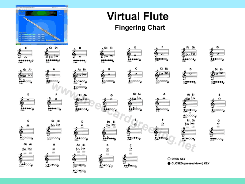 Fingering Flute