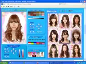 Hair style Korean / Virtual Hair style online